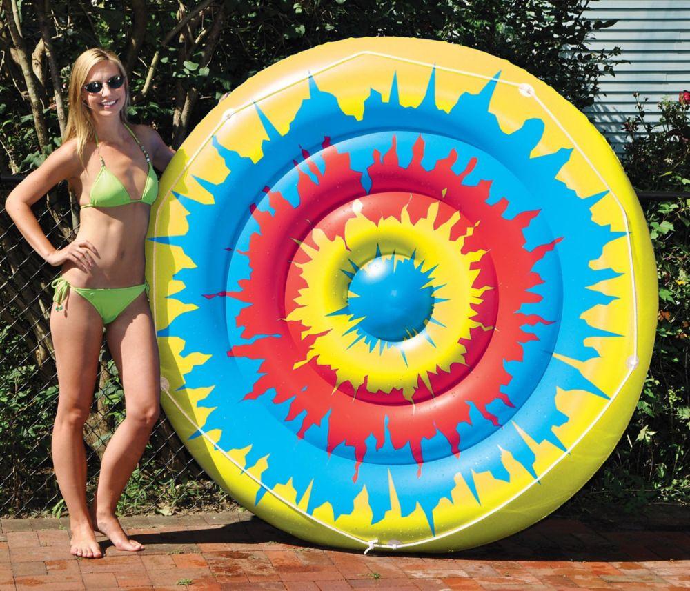 Jouet gonflable pour piscine Tie Dye Island