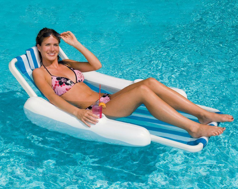 SunChaser Sling Style Lounge Pool Float