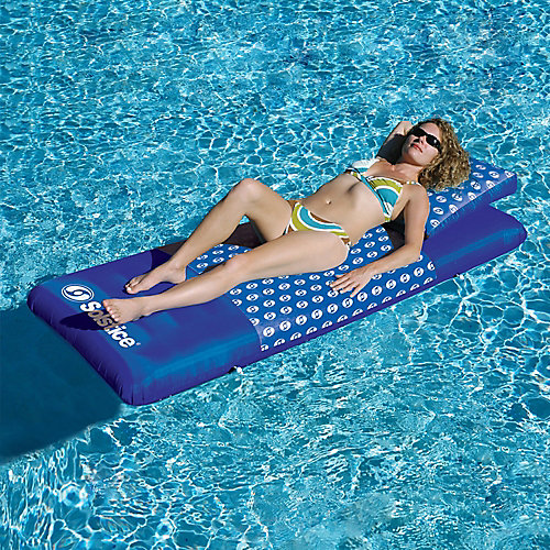 Designer Mattress 78-inch Inflatable Pool Float