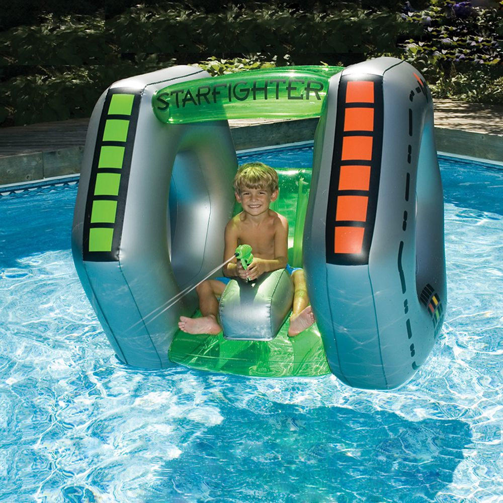 Jouet gonflable de piscine Starfighter Super Squirter
