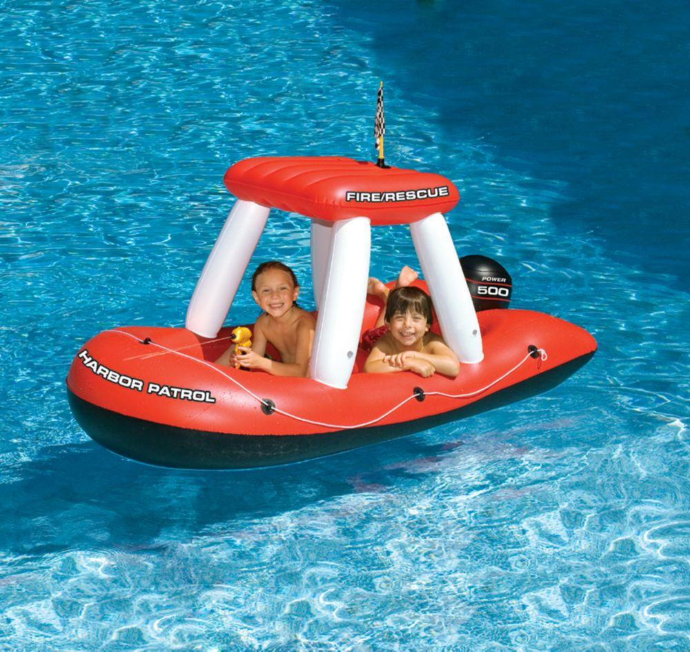 Swimline  Jouet gonflable de piscine Fireboat Squirter