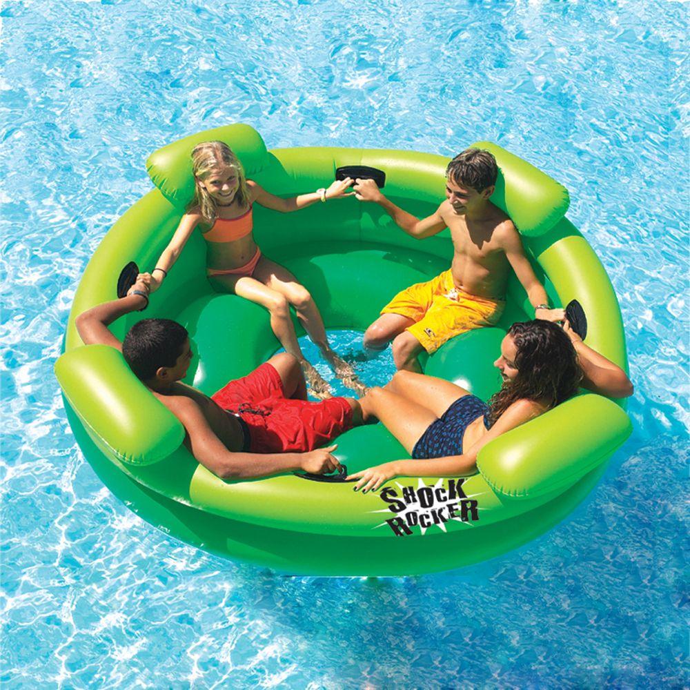 Jouet gonflable de piscine Shock Rocker
