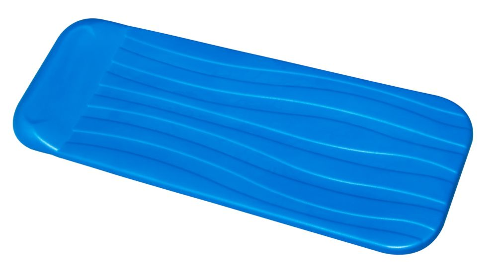 Cool Pool Float - 72 Inches x 1.75 Inches Thick - Blue