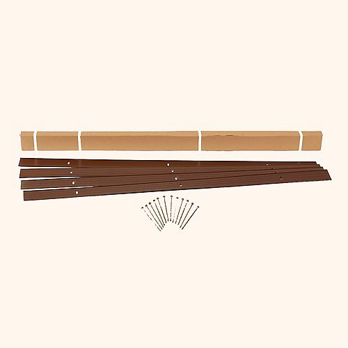 EasyFlex Landscape Edging Kit in Brown