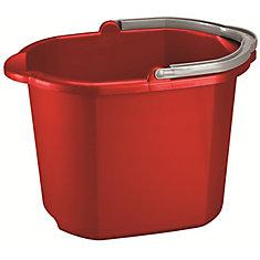 Quart 16 / 15 litre Dual Bec Pail Rouge