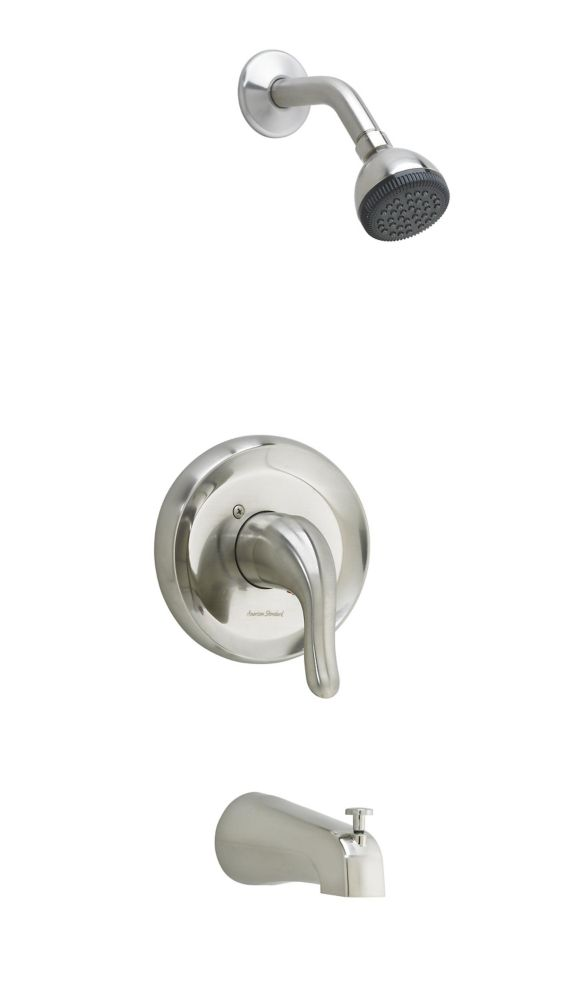 Cadet Single-Handle Tub and Shower Faucet in Satin Nickel