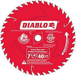 Diablo Finishing Blade 7-1/4 Inch
