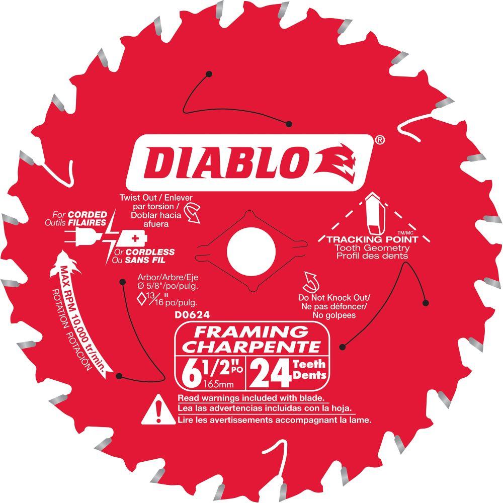 Diablo Framing Blade 6-1/2 Inch
