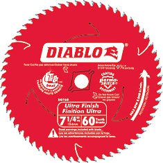 Diablo Fine Finishing Blade 7-1/4 Inch