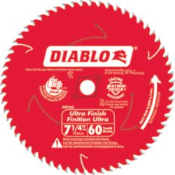 Freud Diablo Fine Finishing Blade 7-1/4 Inch