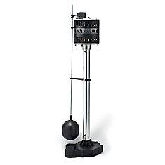 Pompe de carter de vidange de piédestal de fer de fonte de HP de 1/2