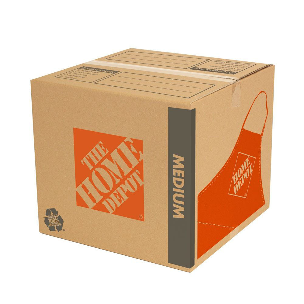 The Home Depot Medium Moving Box The Home Depot Canada