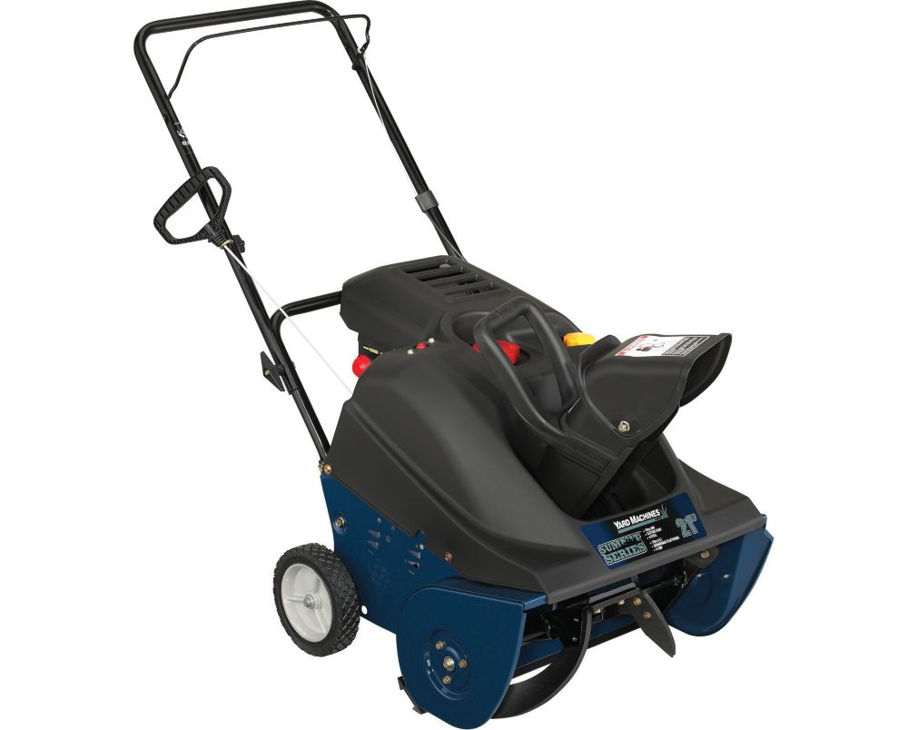 Summit Single-Stage Snow Thrower � 21 Inch - Reconditioned