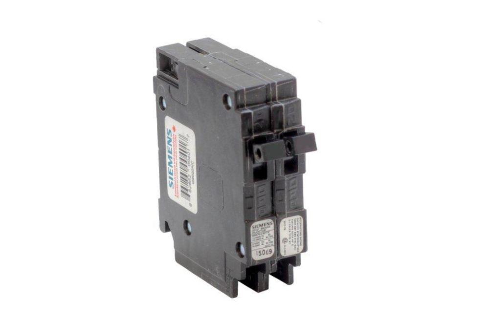 20A 120V 1 Pole Double Siemens type Q disjoncteur