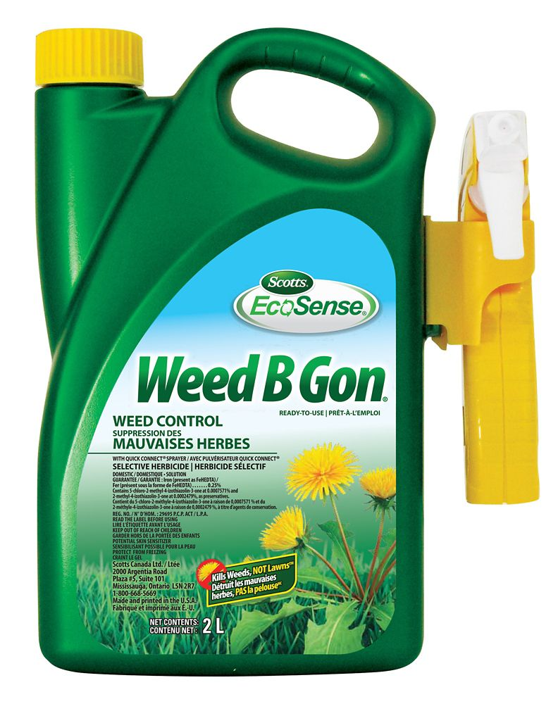 Weed B Gon Suppression Des Mauvaises Herbes, 2L Pret a l'usage