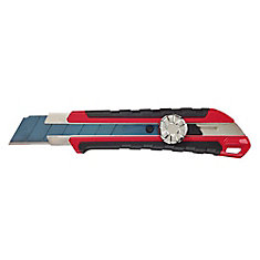 25mm Snap Knife with Over-Molding