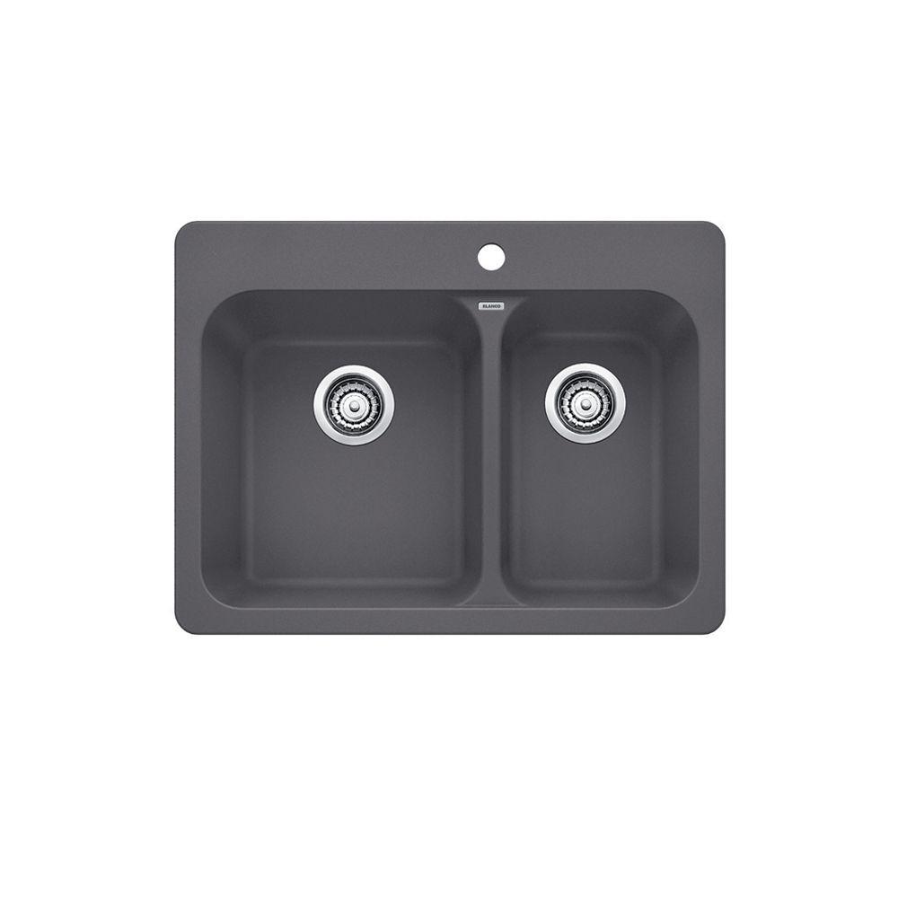 Vision 1.5 Cinder Silgranit Sink CDN