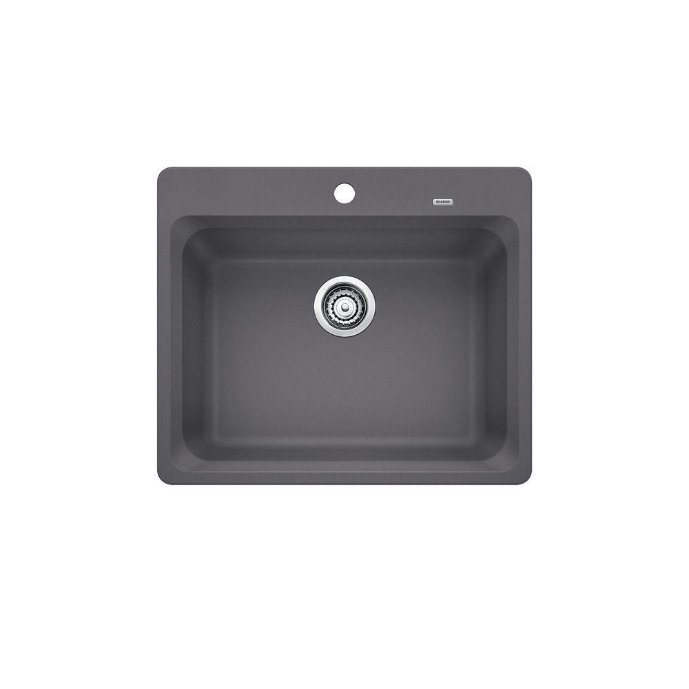 Vision 1 Cinder SILGRANIT Sink CDN, Drop-in