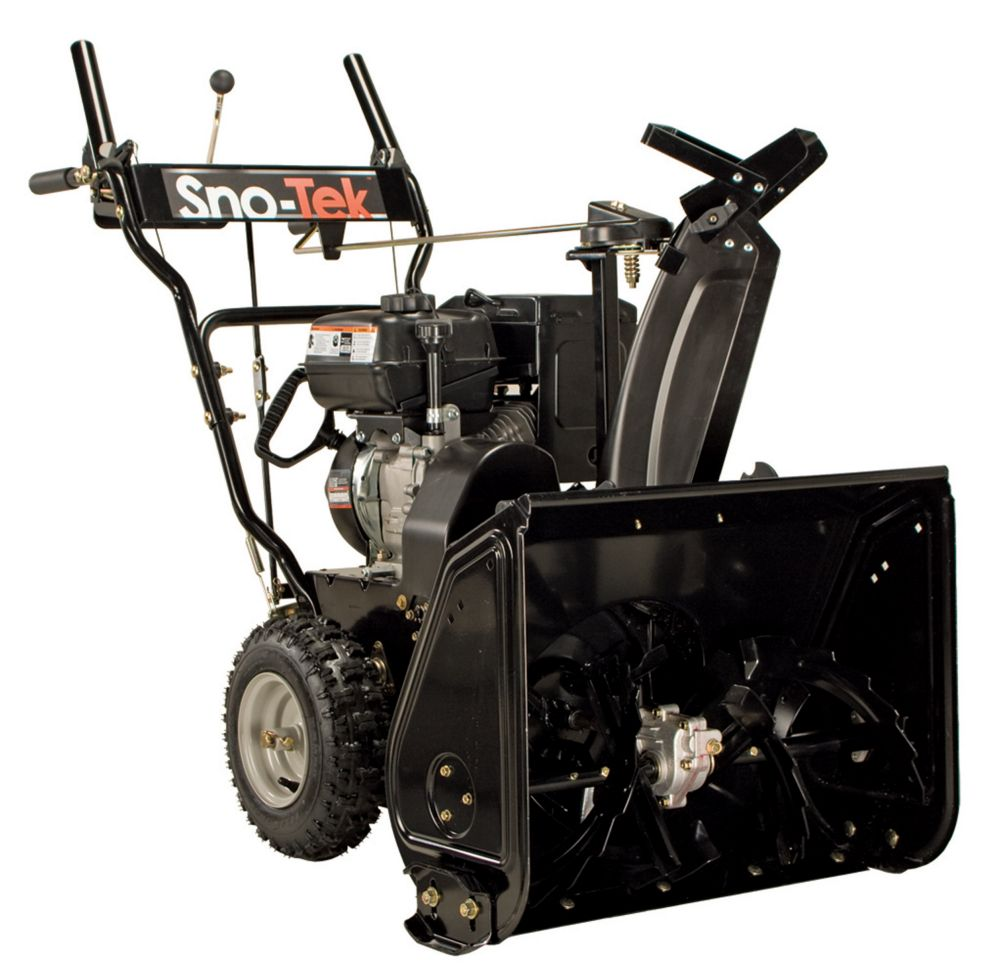Sno-Tek 28 Inch Two Stage Snow Thrower - Reconditioned