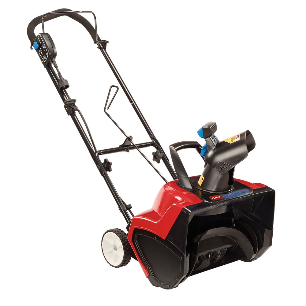 1800 Power Curve Electric Snow Blower with 18-inch Clearing Width