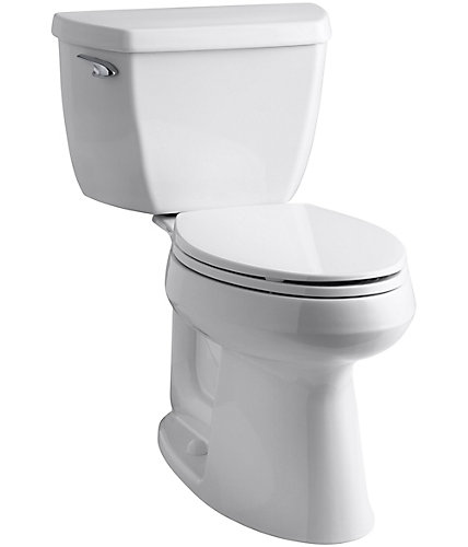 KOHLER Highline Comfort Height Piece  LPF Single Flush - Elongated bowl toilet dimensions
