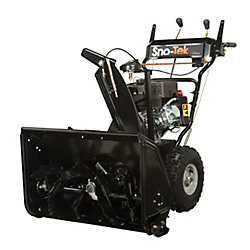 Snotek 120V Sno-Tek 6-Speed Electric Start Gas Snow Blower with 28-inch Clearing Width