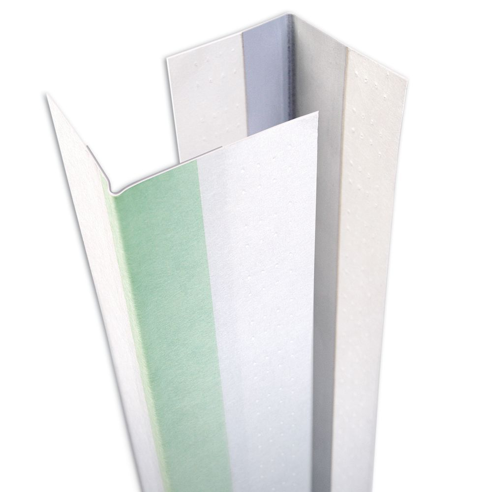SHEETROCK Paper-Faced Metal Outside Corner Bead, B1W 9/16 Inch x 13/16 Inch Uneven Leg, 10 Feet