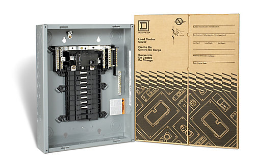 60 Amp Main Breaker Only Loadcentre With 16 Es 32 Circuits Maximum