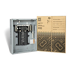 60 Amp Main Breaker Only Loadcentre with 16 Spaces, 32 Circuits Maximum
