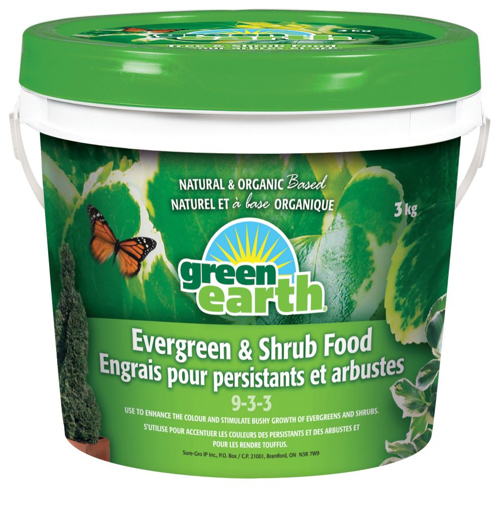 GreenEarth Evergreen and Shrub 9-3-3