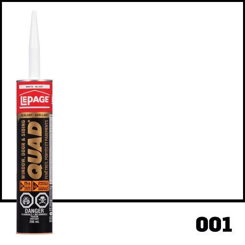 QUAD<sup>®</sup> Scellant à formule avancée Blanc 001- 295ml