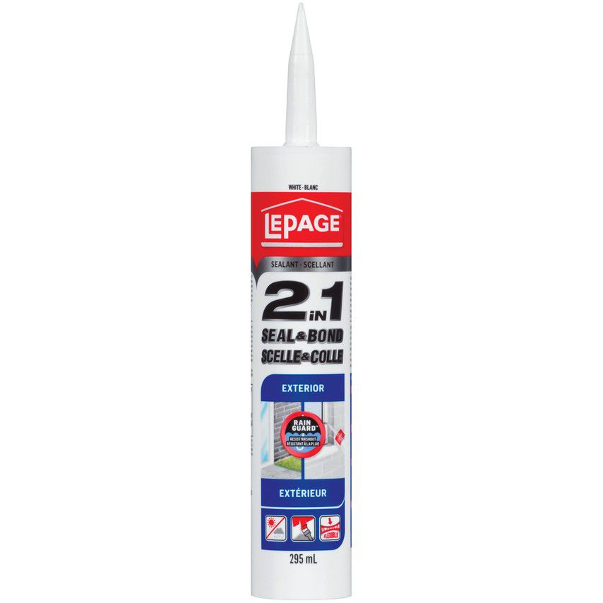 Ultra Seal Scellant pour Fenêtres et Portes Blanc- 295mL