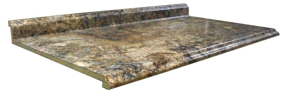 Kitchen Countertop,  Profile Valencia, Antique Mascarello 3466-FXRD, 25.5 inches x 120 inches