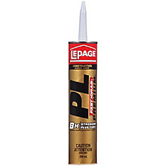 PL Premium Fast Grab Construction Adhesive 295Ml