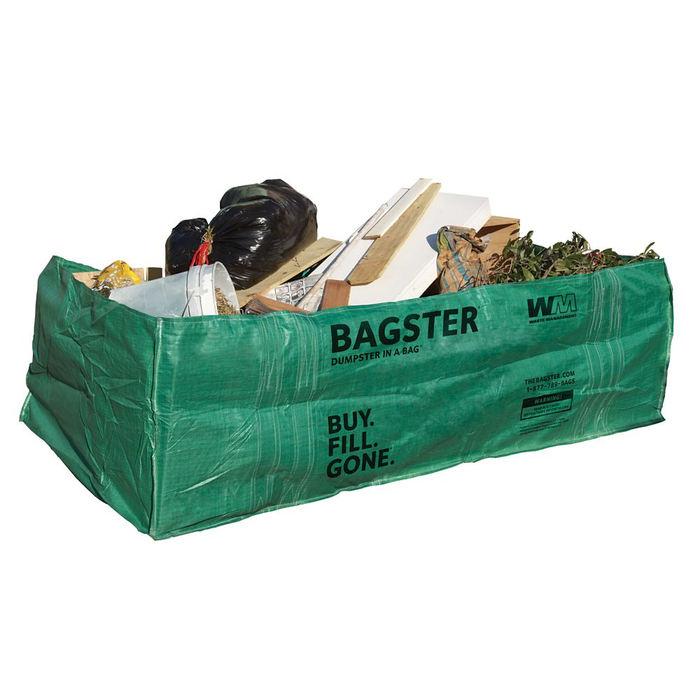 Waste Management Bagster 1500 Kg Capacity Construction Disposal Bag The Home Depot Canada