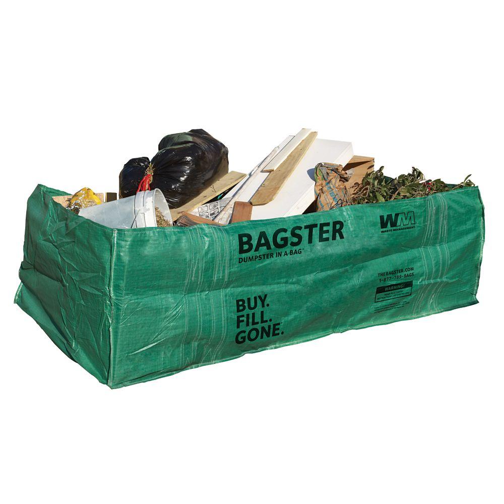 Waste Management Bagster 1500 kg Waste Disposal Bag | The Home Depot ...