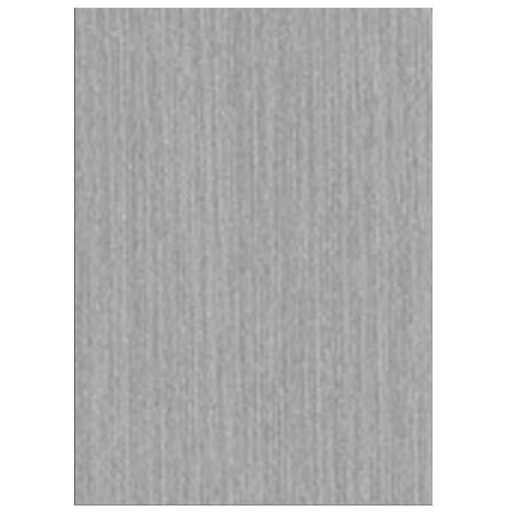 Belanger Laminates Inc P-623-CA Laminate Countertop Sample in Brushed Aluminium