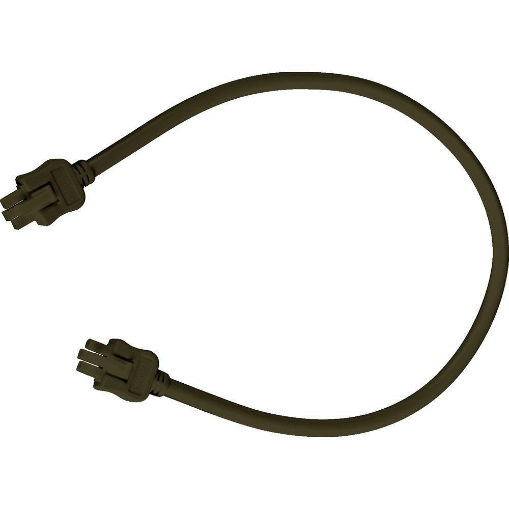 Câble de branchement Hide-A-Lite III - fini Bronze à l'Ancienne de 18po (45.7cm)