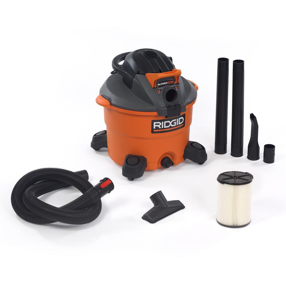 5 Peak HP Wet Dry Vacuum With Detachable Blower