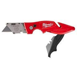 Milwaukee Tool Couteau à lame rabattable FASTBACK II avec rangement