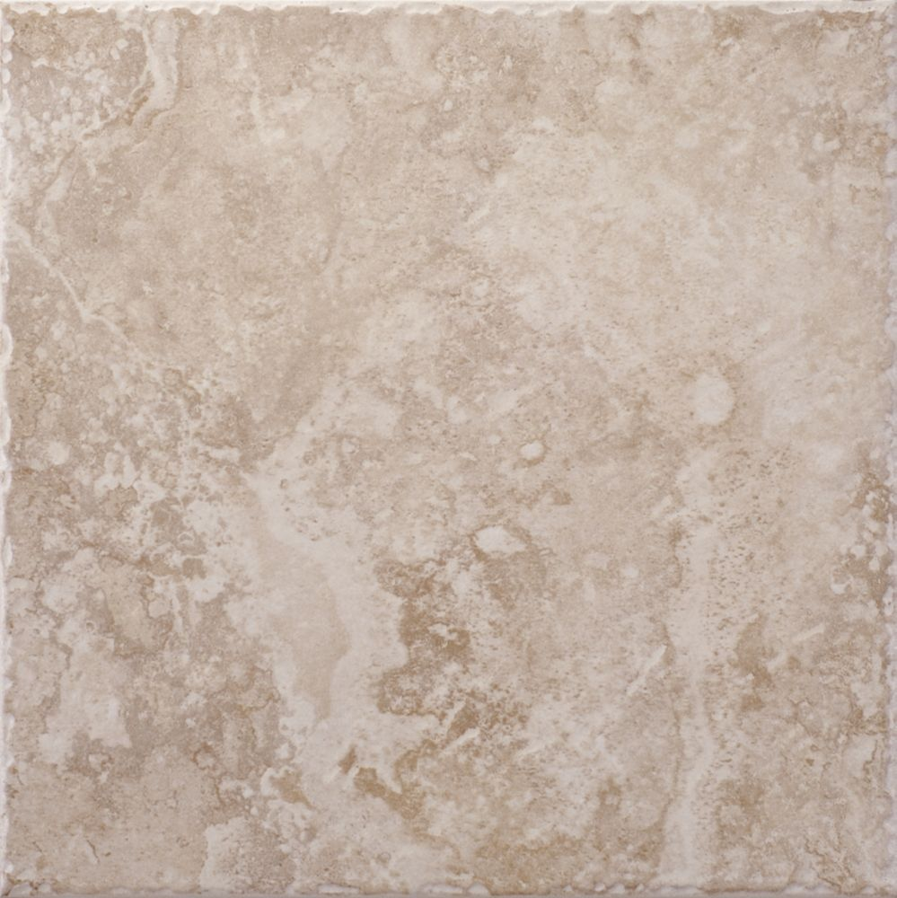 Lancaster Sand 12 Inch x 12 Inch Glazed Porcelain Floor & Wall Tile  -( 14.53 Sq. Ft. / Case)