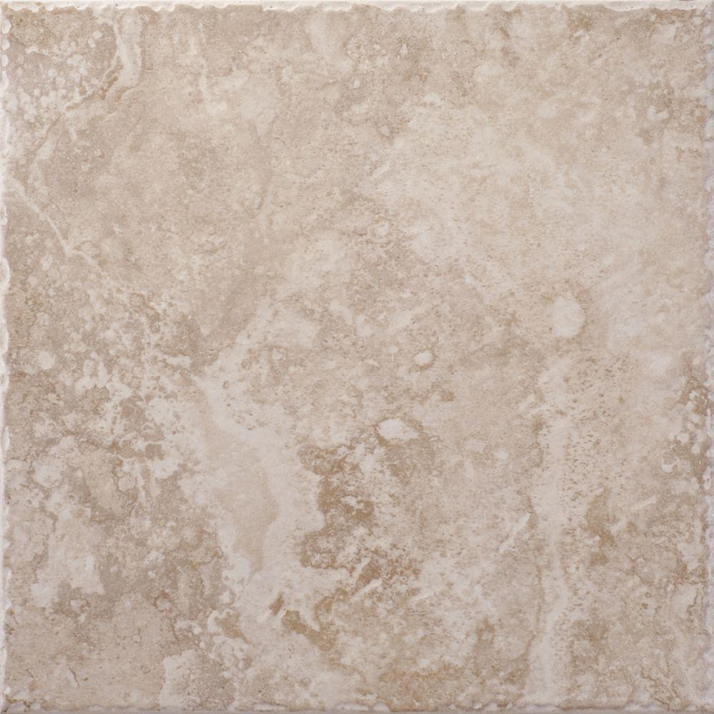 Lancaster Sand 12 Inch x 12 Inch Glazed Porcelain Floor & Wall Tile  -( 14.53 Sq. Ft. / Case)