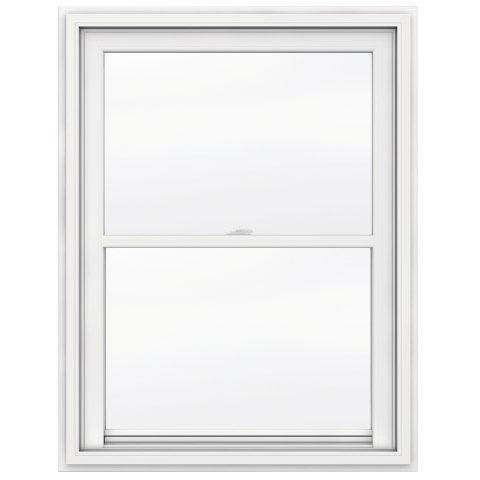 5000 SERIES Vinyl Single Hung Window 36x48 featuring J Channel Brickmould