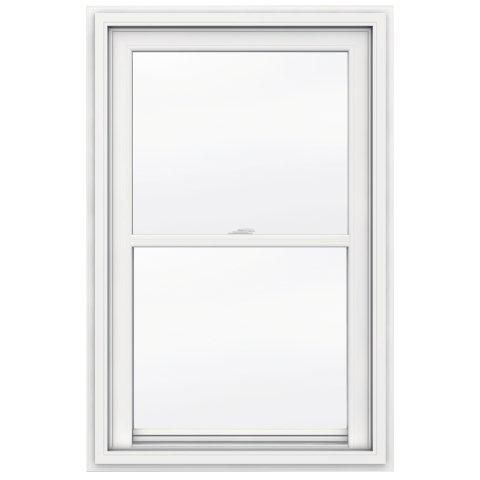 31-inch x 34-inch 5000 Series Single Hung Vinyl Window with J Channel Brickmould