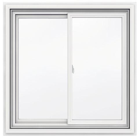 Jeld Wen Windows Doors 5000 Series Vinyl Double Sliding