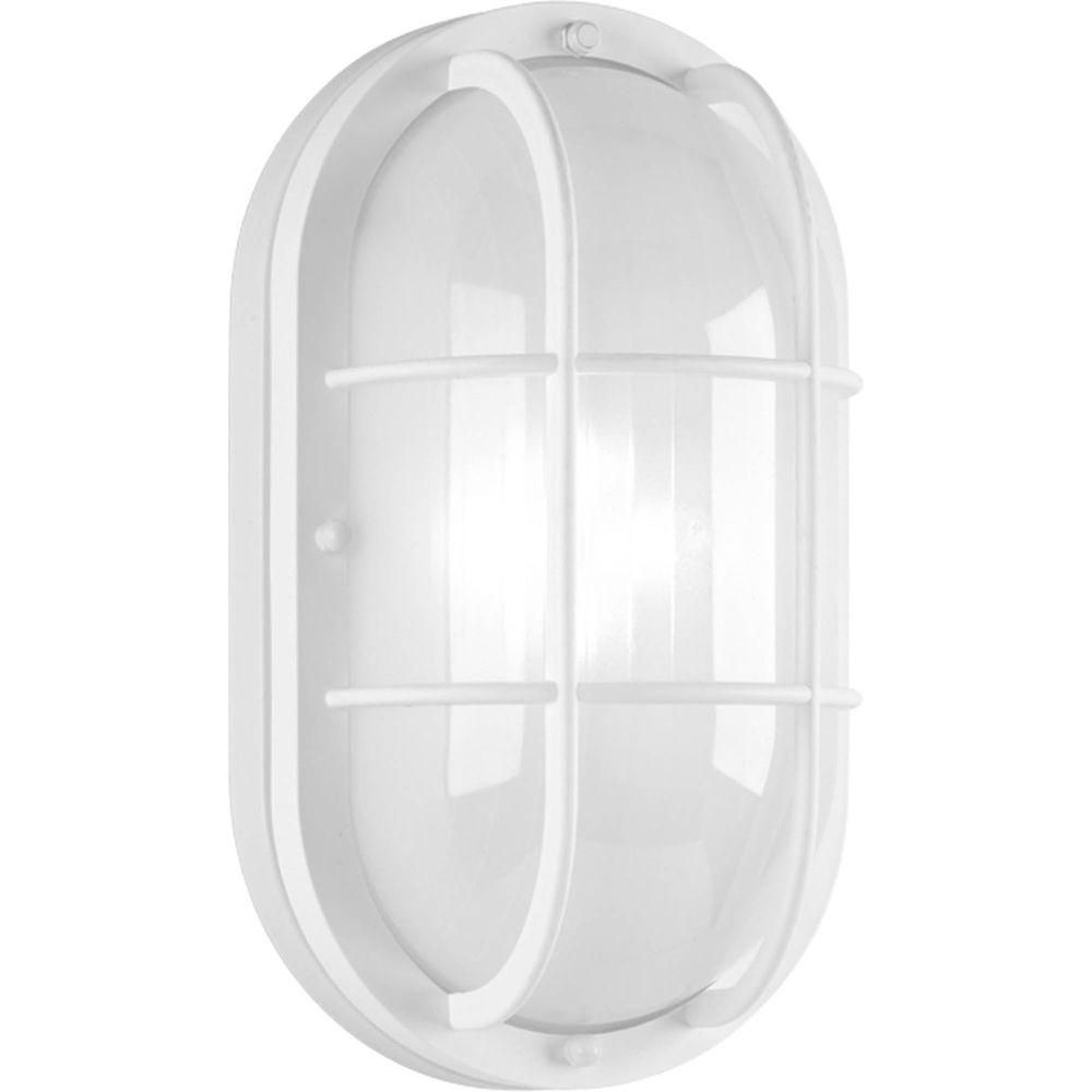 Progress LED White Wall Lantern