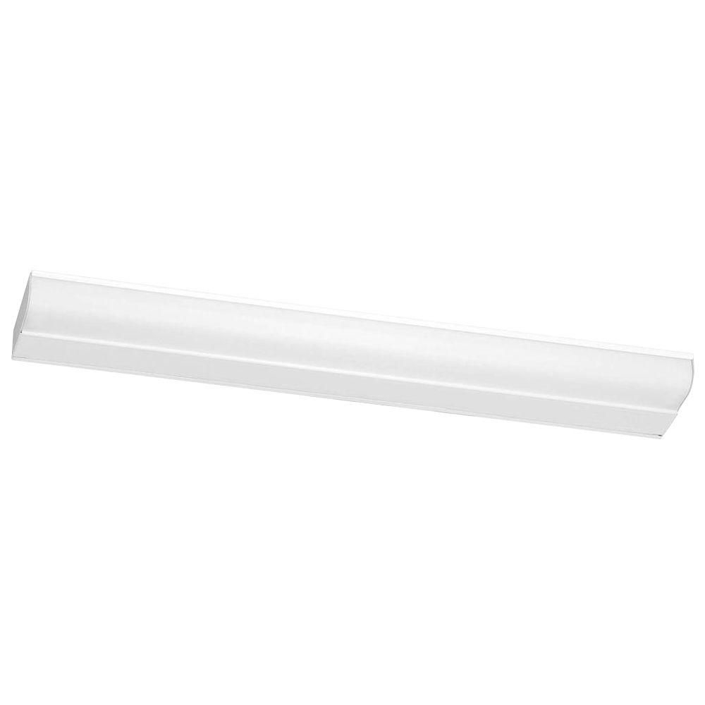 21 Inches White Undercabinet Fixture