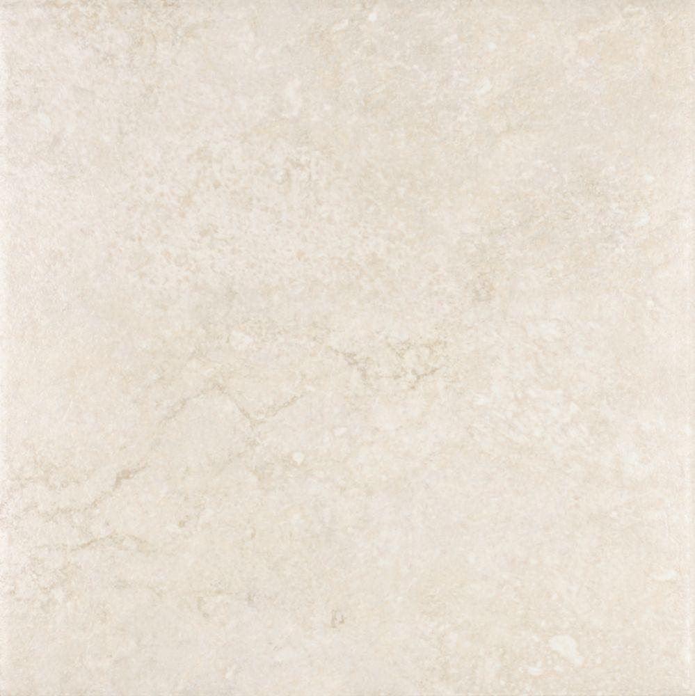 Eliane sardegna brown 18 inch x 18 inch glazed porcelain for 13 inch ceramic floor tile