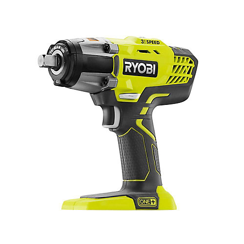 18V ONE+ 1/2-inch Cordless 3-Speed Impact Wrench (Tool-Only)