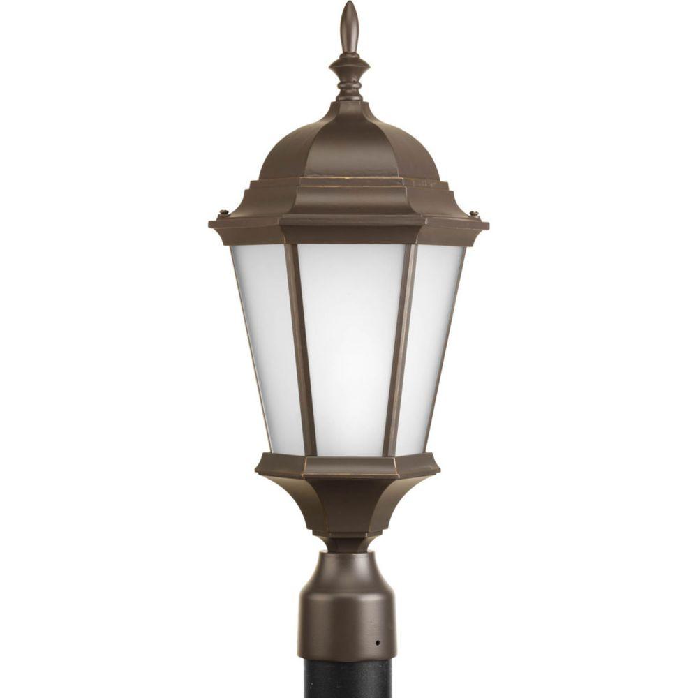 Welbourne Collection 1 Light Antique Bronze Post Lantern
